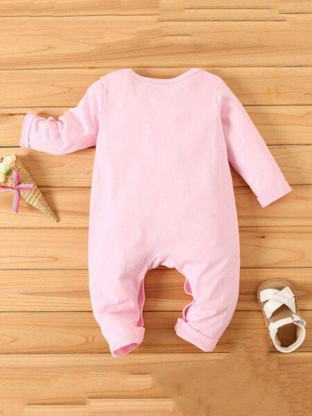 Baby Rainbow Pink Jumpsuit