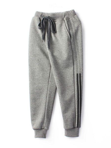 Kid Boy Side Stripe Casual Pants