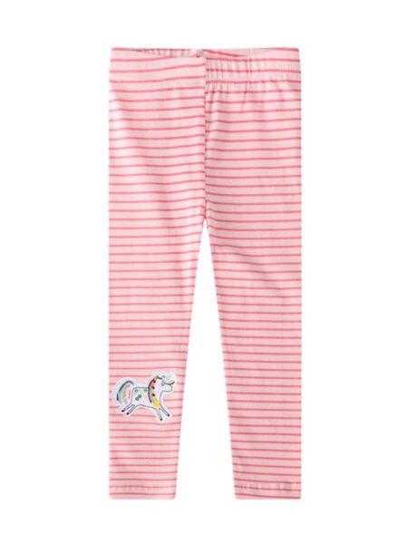 Kid Girl Sequins Unicorn Stripe Leggings Pants TROUSERS Girls