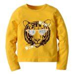 Kid Boy Tiger Cartoon Top Wholesale 2