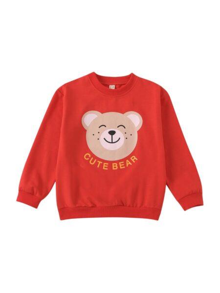 Kid Cute Bear Sweatshirt