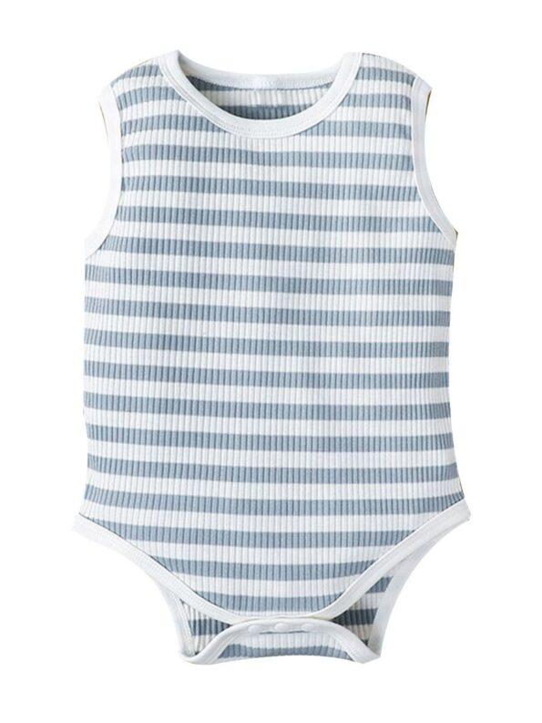Infant Striped Tank Bodysuit