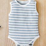 Infant Striped Tank Bodysuit 4