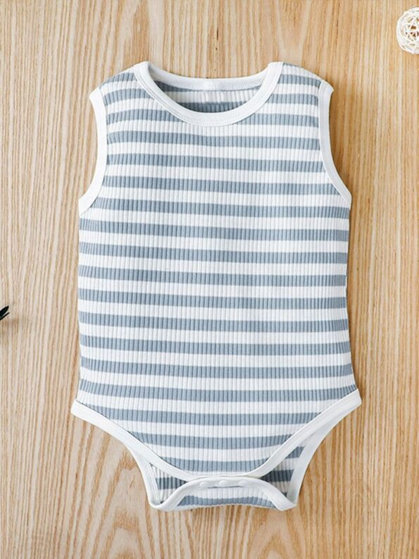 Infant Striped Tank Bodysuit 8