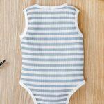 Infant Striped Tank Bodysuit 3