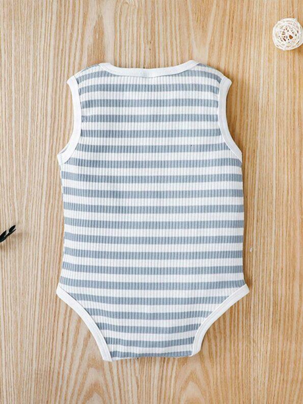 Infant Striped Tank Bodysuit 7