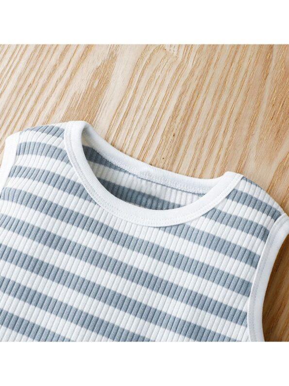 Infant Striped Tank Bodysuit 10