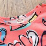 Baby Girl Valentine's Day Love Heart Tank Jumpsuit 9