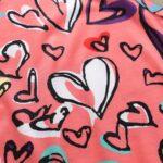 Baby Girl Valentine's Day Love Heart Tank Jumpsuit 6