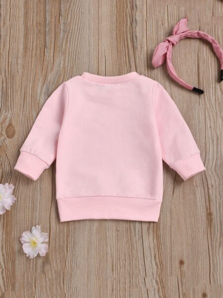 I Think I Will Go Shopping With My Mom Today Baby Toddler Sweatshirt 2