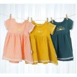Baby Kid Girl Muslin Pom Pom Sun Dress