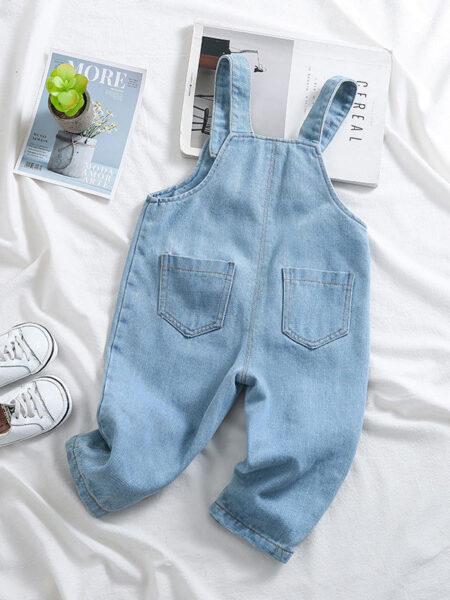Toddler Cartoon Denim Overalls  Jeans 2