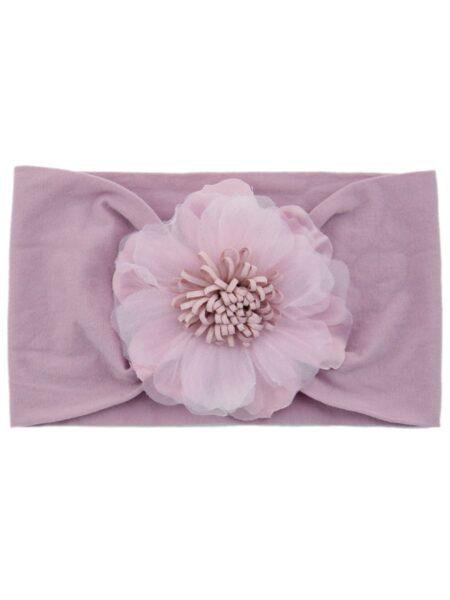 Toddler Girl Flower Solid Color Mesh Headband Wholesale Headbands 2