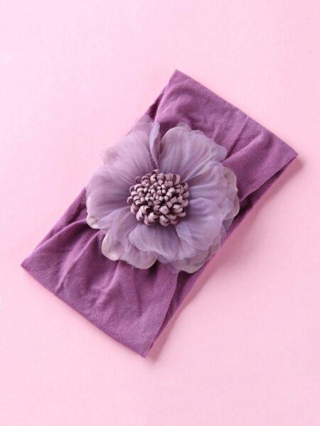 Girl Flower Turban Hairband Wholesale