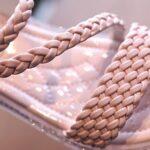 Little Girl Solid Color Woven Sandals Wholesale 6