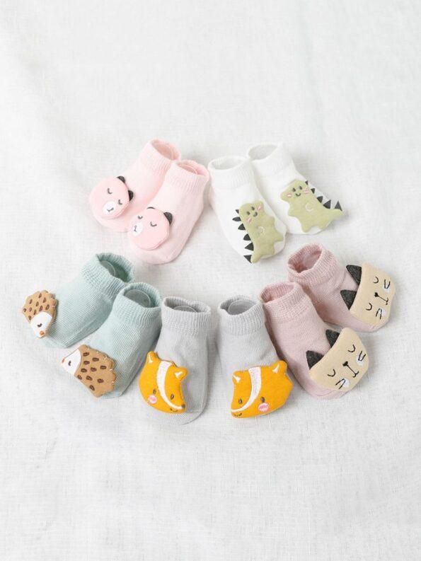 Baby Toddler Socks Dinosaur Animal Wholesale 11