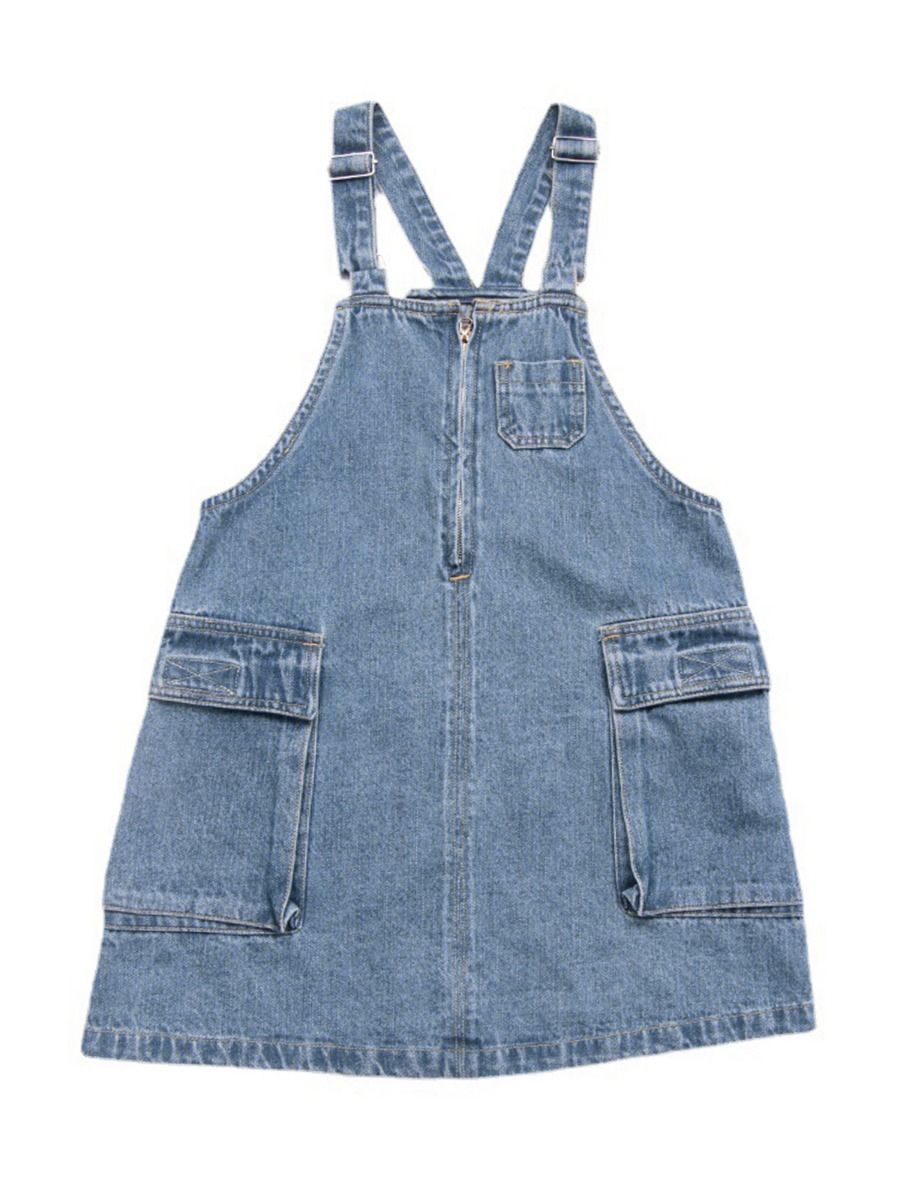 Denim Overalls Dresses 2