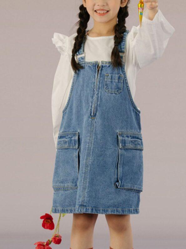 Denim Overalls Dresses 9