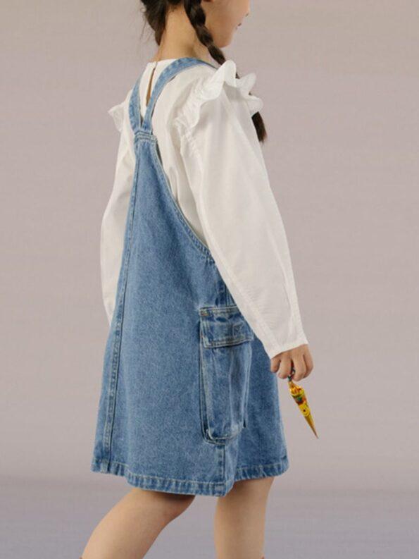 Denim Overalls Dresses 8