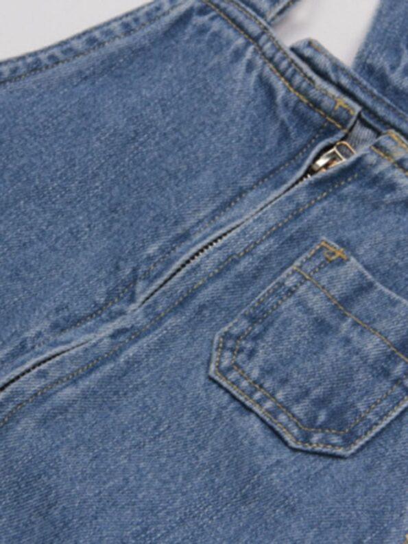 Denim Overalls Dresses 11