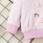 wo Pieces Cartoon Baby Girl Outfit Sets Hoodie And Pants  Wholesale 5