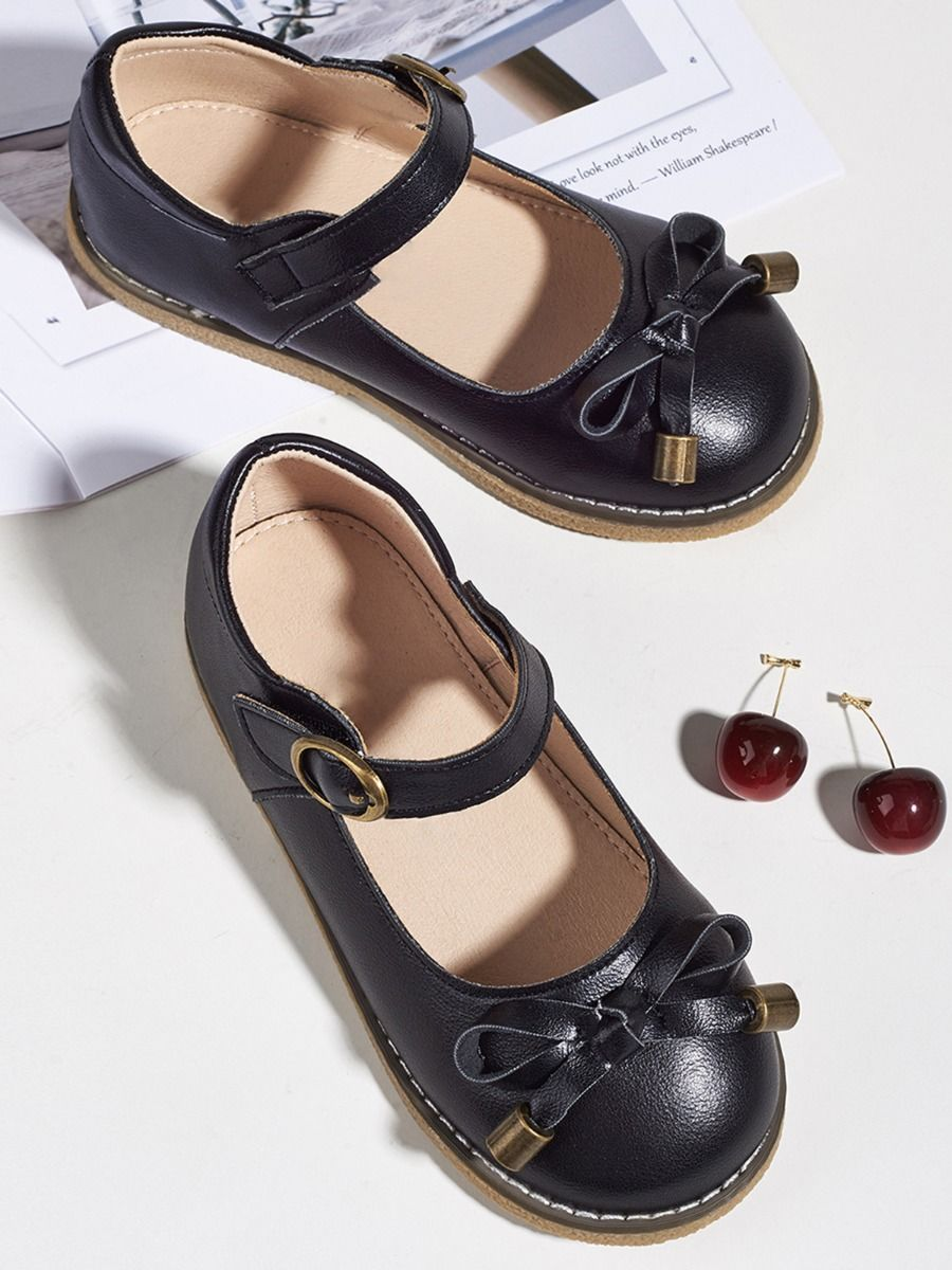Toddler Kid Girl Party Shoes With Bowknot  Wholesale 2