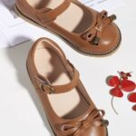 Toddler Kid Girl Party Shoes With Bowknot  Wholesale 3