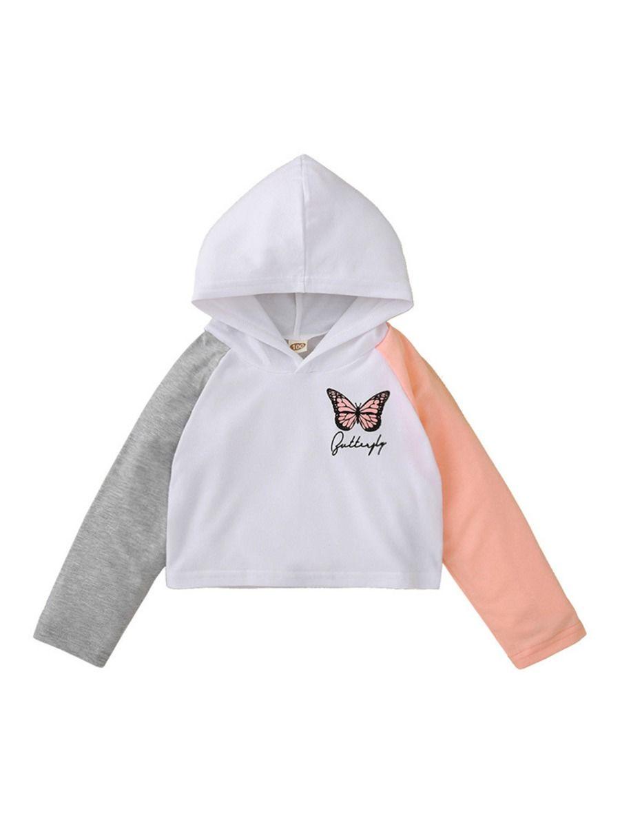 Love Heart Print T-shirt For Kid Girl GIRLS Girls