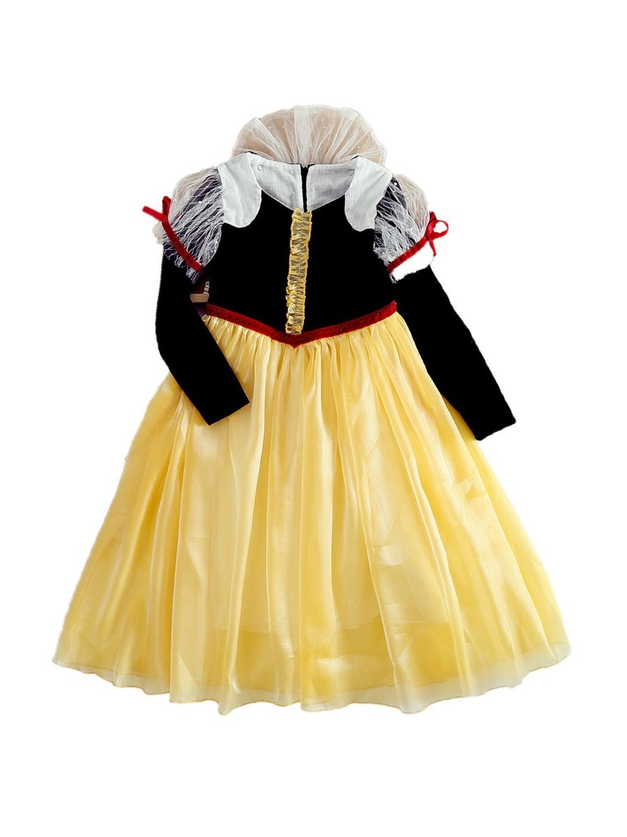 Princess Cosplay Party Kid Girl Mesh Dress  Wholesale 2