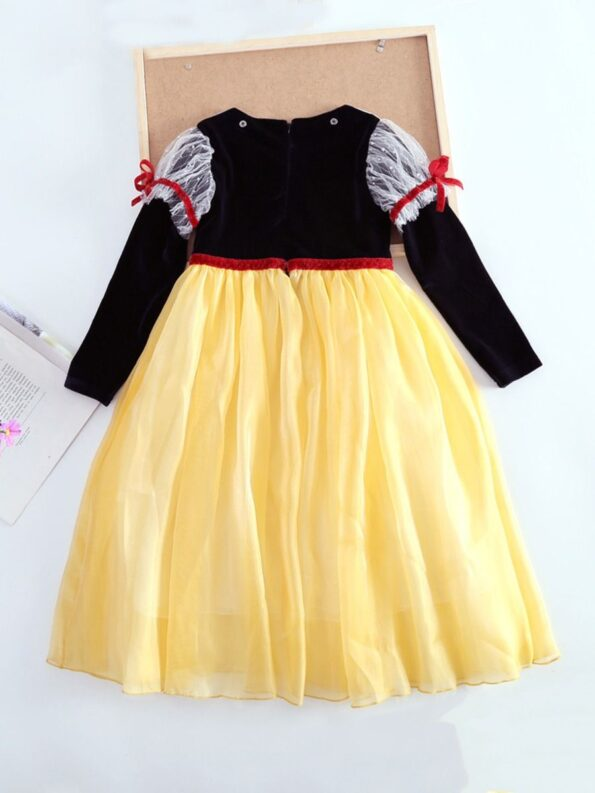 Princess Cosplay Party Kid Girl Mesh Dress  Wholesale 11