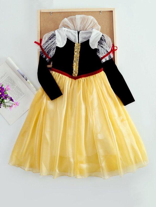 Princess Cosplay Party Kid Girl Mesh Dress  Wholesale 10