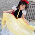 Princess Cosplay Party Kid Girl Mesh Dress  Wholesale 3