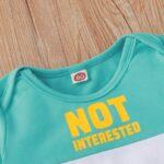 Color Blocking Letter Print Baby Boy Jumpsuit 7