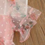 Kid Girl Organza Flower Dress 5