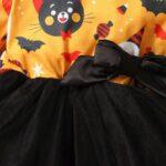 Halloween Mesh Dress For Baby Toddler Girl 5