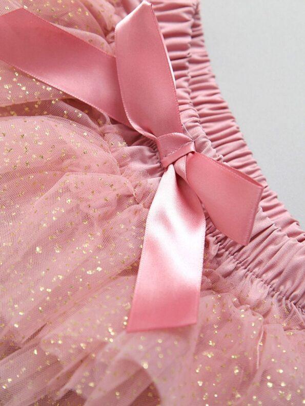 Three Pieces Baby Girl Clothing Sets One Lace Bodysuit Tutu Skirt Headband 13