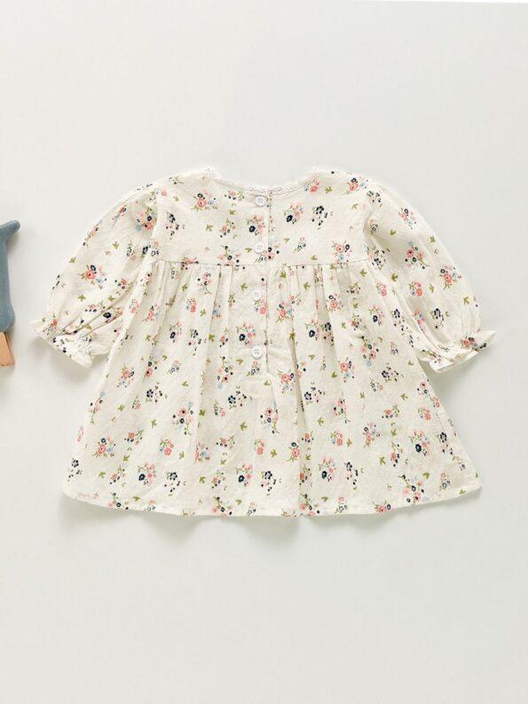 Flower Online Baby Girl Dress  Wholesale 7