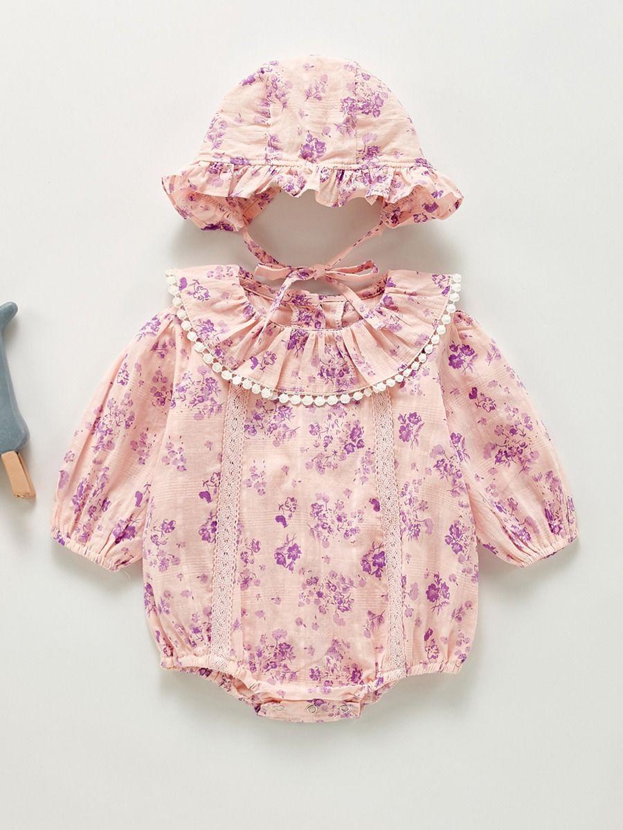 Pom Pom Trim Eyelet Knit Baby Girl Cardigan BABIES Girls
