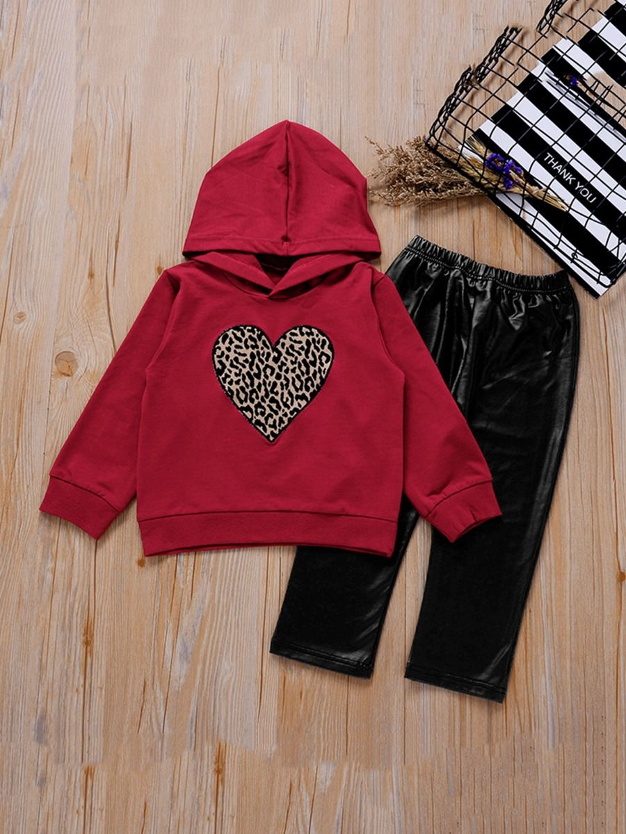 Two Pieces Ribbed Girls Sets Cardigan And Pants  Wholesale 15