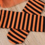 Pumpkin Mesh Suspender Wholesale Baby Onesies Baby Girl Halloween Costumes 7
