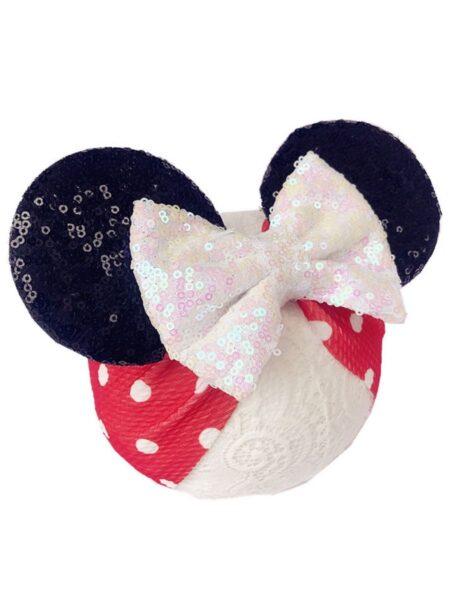 Cute Sequins Big Bow Head Wrap Wholesale Headbands 2