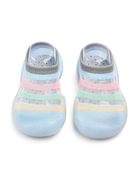Baby Color Block Slipper Socks Wholesale 2