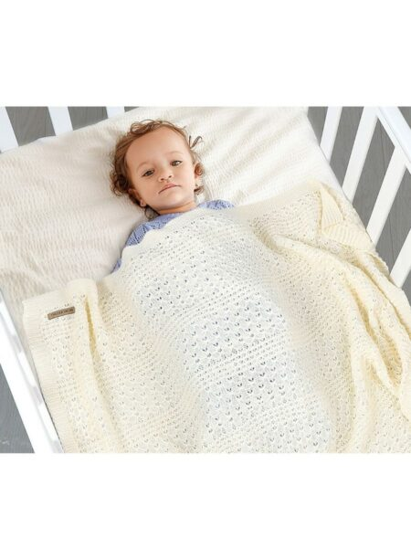 Hollowed-out Cotton Baby Blanket Wholesale ACCESSORIES Unisex
