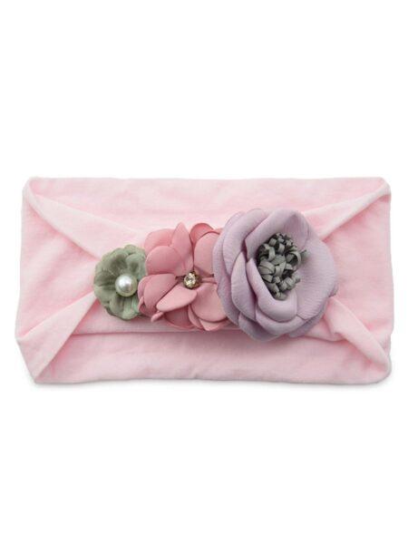 Cute Girl Flower Trim Headband Wholesale Headbands 2