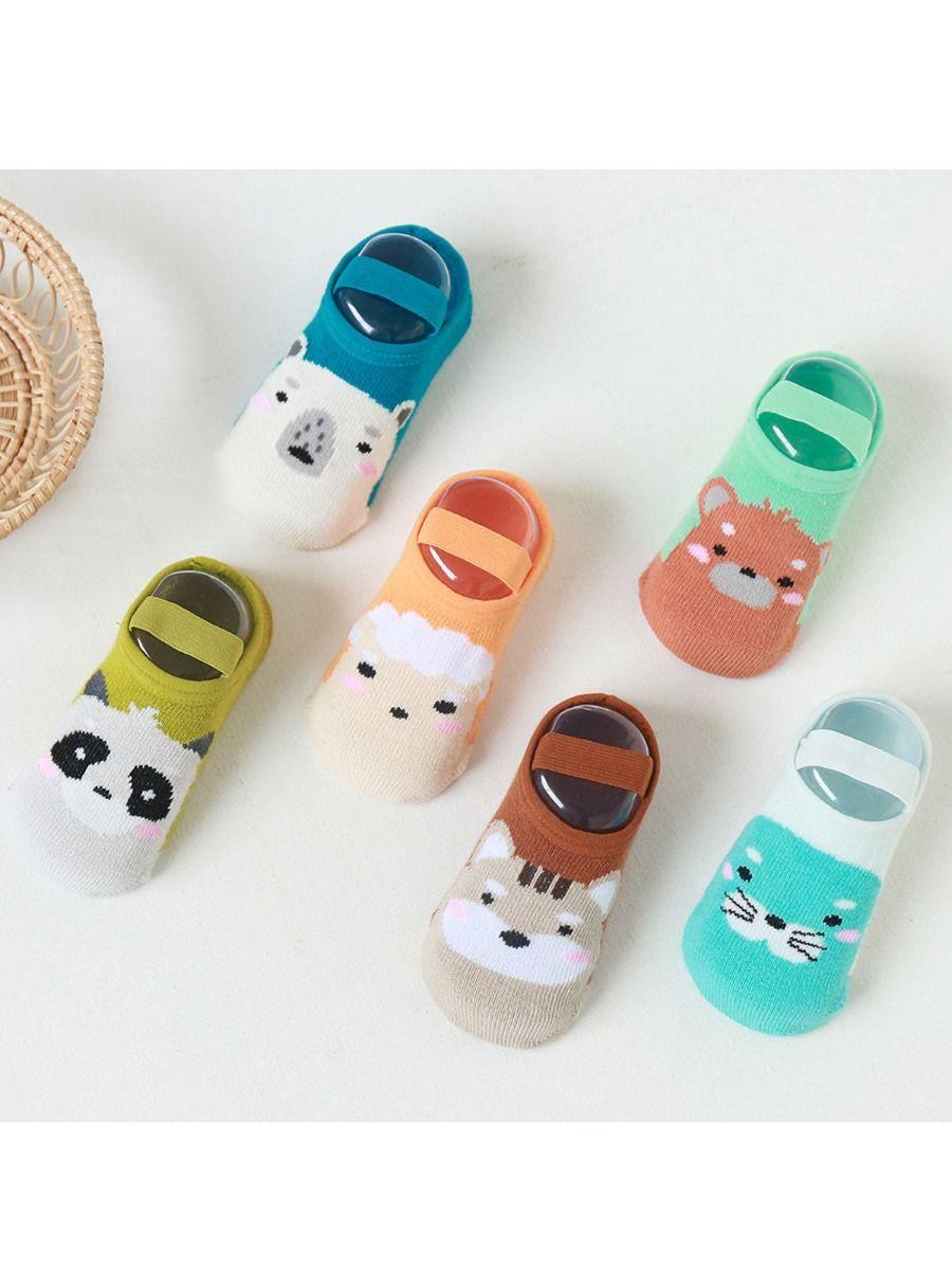 Toddler Unisex Cartoon Non-slip Floor Socks Wholesale Socks