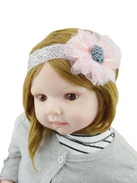 Girl Photo Shoot Flower Lace Headband Wholesale Headbands 2