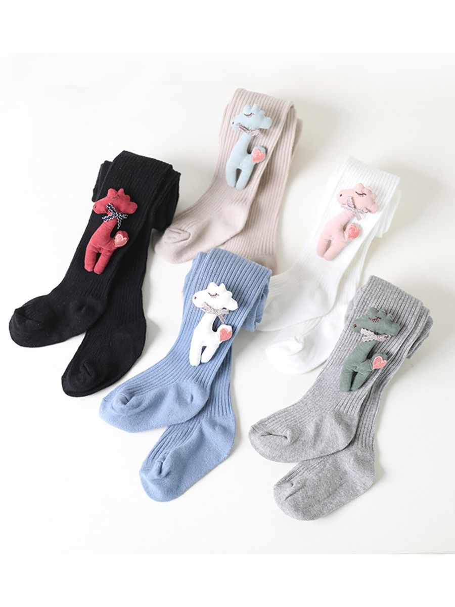 Kid Girl Stripe Color Blocking Tights Wholesale Socks ACCESSORIES Girls