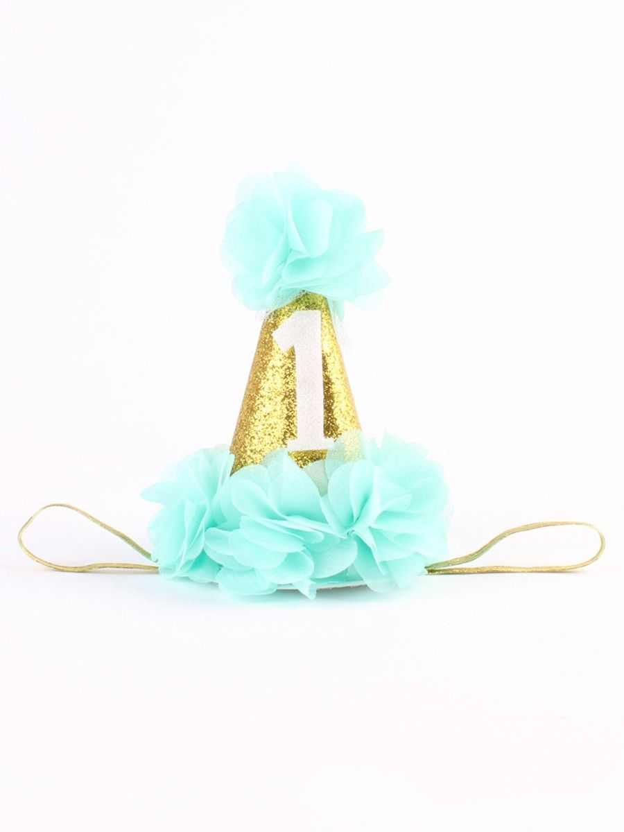 Baby Girl Party & Birthday Floral Sequins Headband Wholesale