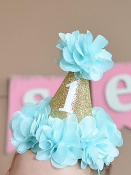 Baby Girl Party & Birthday Floral Sequins Headband Wholesale 2