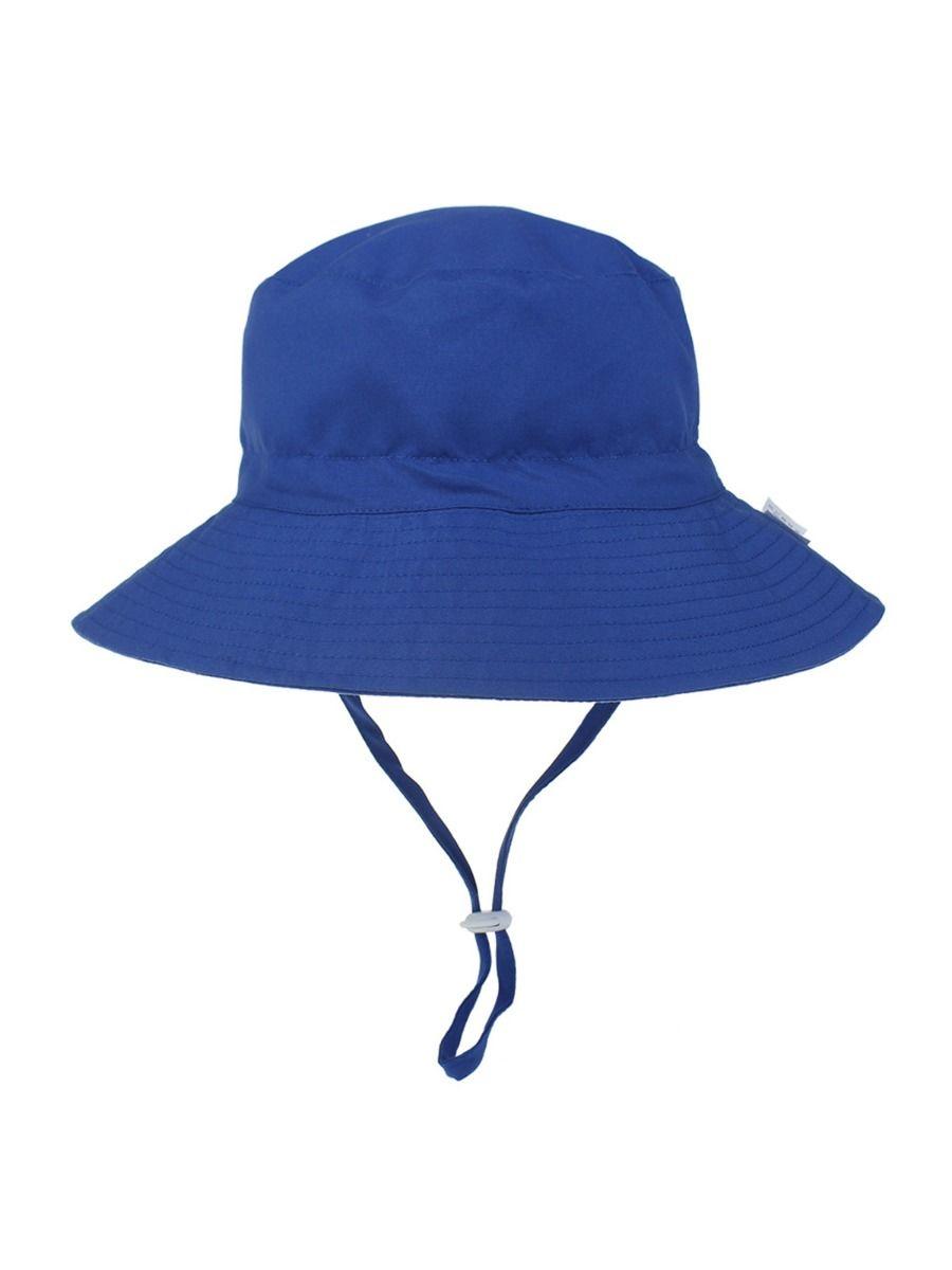 Kid Girl Boy Solid Color Drawstring Bucket Hat Wholesale ACCESSORIES Unisex